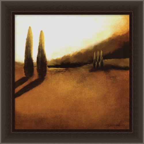 Memories of Tuscany II Framed Canvas Art by Tandi Venter, Image size: 16.00