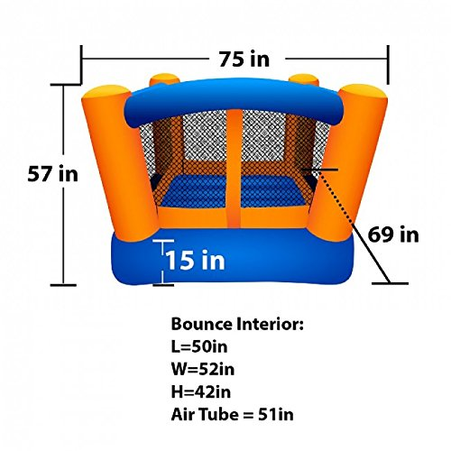 Blast Zone Little Bopper Inflatable Bouncer