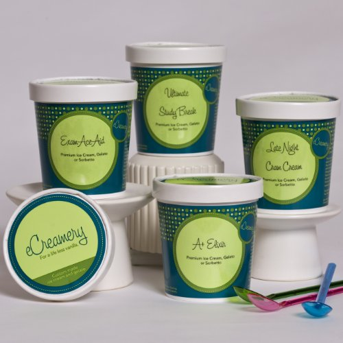 eCreamery Study Aid Gift - Sorbetto 4 pack