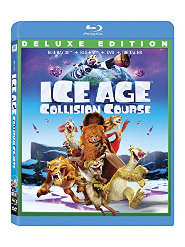 Blu-ray 3D : Ice Age: Collision Course (With DVD, With Blu-Ray, Digitally Mastered in HD, 3 Disc)