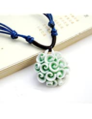Libaraba Ceramic Rose Necklace