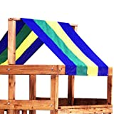 Ne4403 Multi-Color Tarp - Swing N Slide Corp