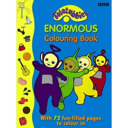 "Teletubbies "" : Enormous Colouring Book (Teletubbies): 9780563476078"
