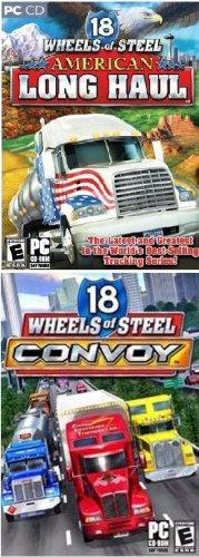 Trucker 2 Pack: 18 Wheels of Steel Convoy + American Long Haul
