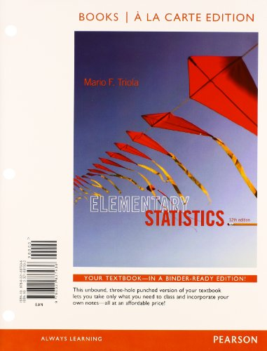 OCAS Larson/Farber Elementary Statistics Picturing the World 4th Edition