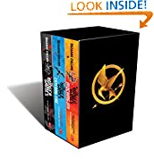 The Hunger Games trilogy by Suzanne Collins book cover