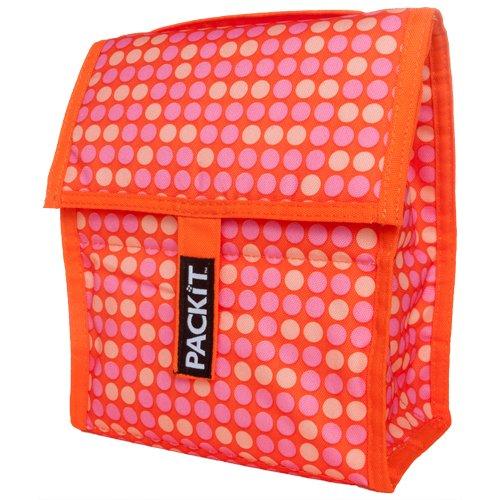 PackIt Freezable Lunch Bag, Polka Dot