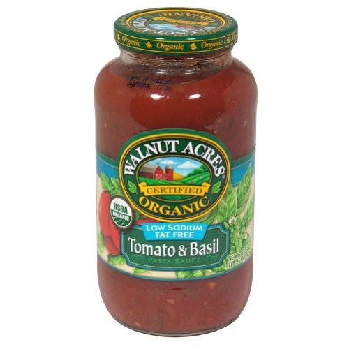 Walnut Acres Organics Organic Ls Tomato & Basil Pasta Sauce ( 12x25.5 OZ)