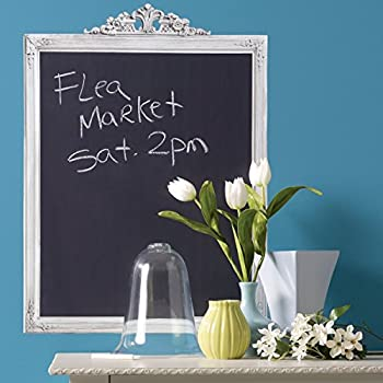 Wallies Wall Decals, Framed Chalkboard, 18-1/2-inch x 25-inch