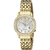 Citizen Eco-Drive Diamond Women's Watch (EW2282-52D)