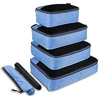 OXA Waterproof Packing Cubes 6-Piece Set (Blue)