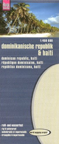Rough Guide Map to Dominican Republic