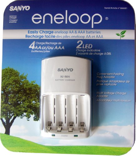 sanyo ni mh battery charger instructions