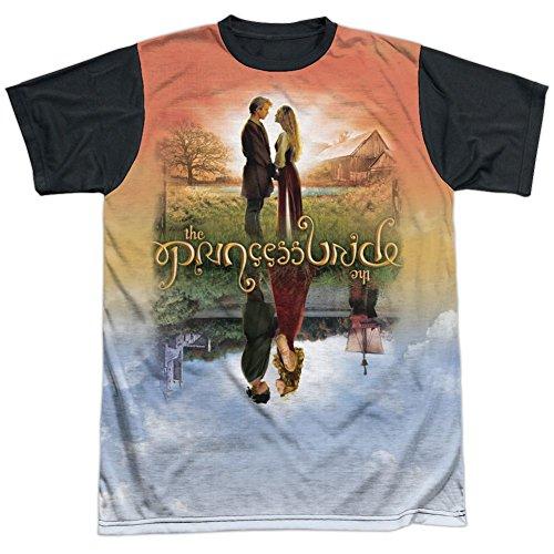 Sublimation Black Back: Poster Sub The Princess Bride T-Shirt PB143ATBB