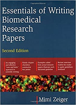 Biomedical Science writing essay books
