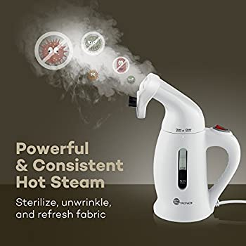 TaoTronics Garment Steamer, Handheld Portable Fabric Steamers For Clothes - Powerful Travel Garment Clothes Steamer, 120ml Capacity Perfect for Home and Travel - ETL Certification