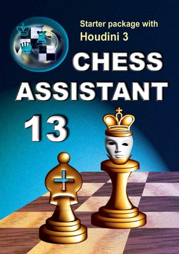 Chess Assistant 13, Starter Package with Houdini 3 (with Bonus: Game Service 2013) on DVD Chess Software