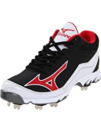 Mizuno Men's 9-Spike Swagger Mid Baseball Cleat