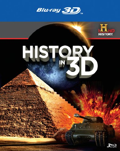 Blu-ray 3D : History in 3D (With Blu-Ray, 3 Dimensional, 3 Disc)