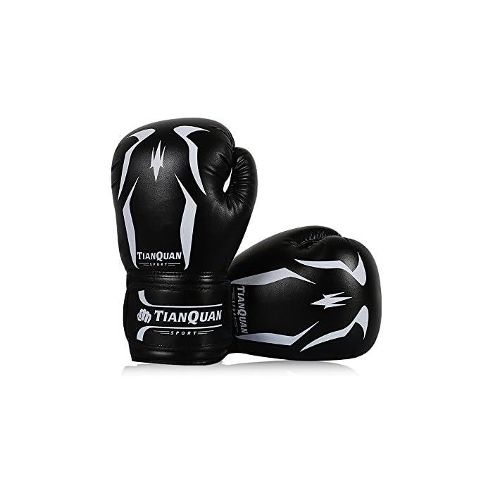 Tofern uomini guanti formazione guanto inscatolamento pesante borsa sparring guanti borsa mma pugno – nero 4: prezzi, offerte vendita online