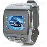 Generic Q5 Unlocked Touch Screen GSM Wrist Watch Mobile Cell Phone Bluetooth Keypad MP3 Black