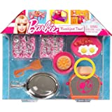 Barbie Breakfast Time Cooking Doll Accessories Imagination Play