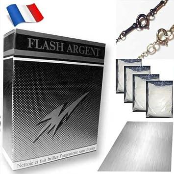 1 flash argent systeme systeme de nettoyage bijoux en argent argent et. Black Bedroom Furniture Sets. Home Design Ideas