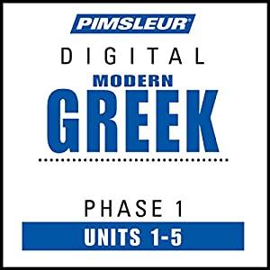 Greek (Modern) Phase 1, Unit 01-05 Audiobook