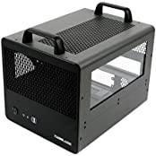 CaseLabs Bullet BH2 MITX Case With Handles And Dual Windows, Gunmetal