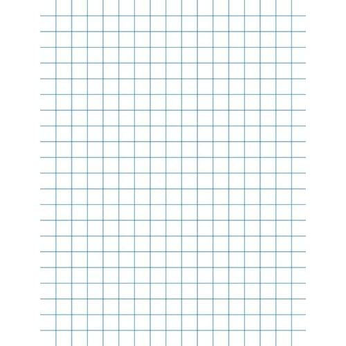 School Smart Graph Papers - 8-1/2 x 11 , 1/4 Rule, Two Sides - Pack of ...