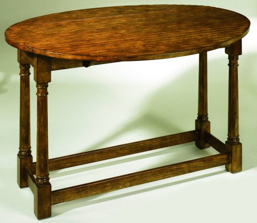 Lane Home Furnishings Country Living Heritage - Hickory Drop Leaf Sofa Table - 11897-12