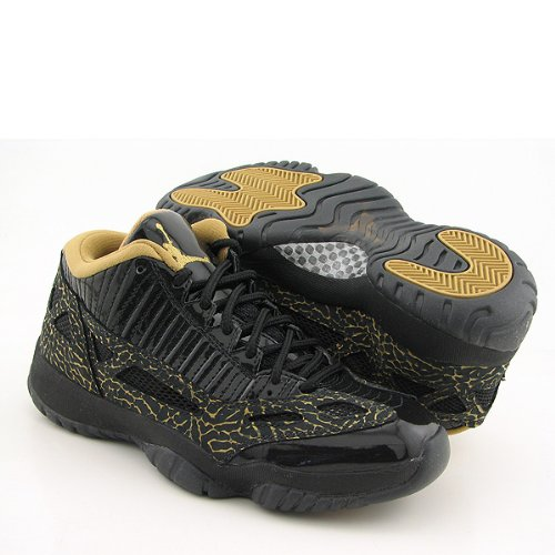 NIKE Air Jordan 11 Retro Low Black New Shoes Womens 9