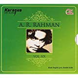 Karaoke Sing Along A R Rahman Vol 6  Hindi / English Lyrics Booklet Inside  [LegacyTitleID: 22231860] available at Amazon for Rs.75