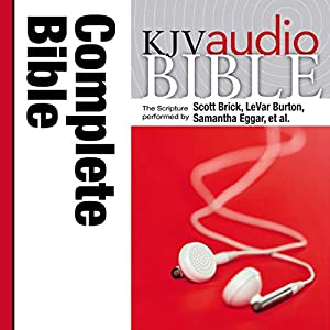 KJV Audio Bible, Pure Voice Audiobook