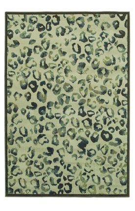 """Shaw Rugs 3VB508100 Tranquility Koko Off White Contemporary Rug Size: 3'11"""" x 5'3"""""""