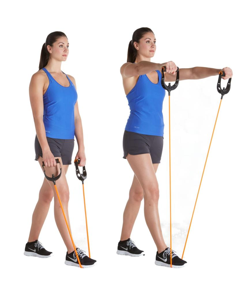 Workout Bands Com: Amazon.com : SPRI Quick Select Xertube Resistance Band
