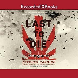 The Last to Die Audiobook