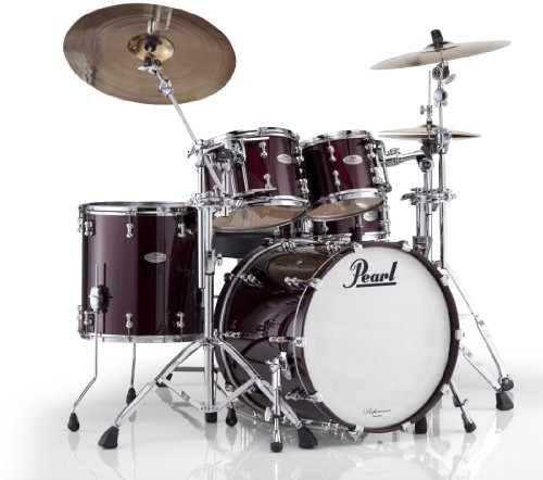 Pearl RFP Reference Pure Low-Mas EvenPly Maple, Birch, and African Mahogany New Fusion Shell Pack (22x18, 10x8, 12x9, 16x16)