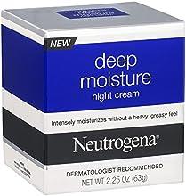Neutrogena Deep Moisture Night Cream Pack of 9
