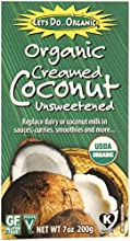 Let39s Do Organic Creamed Coconut 7-Ounce Boxes Pack of 6