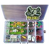 Remeehi Diy Finger Skateboard Storage Box Exquisite Gift Packaging Mini Finger Skateboard Set Educational Toys...