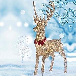 64 1 6m led reindeer outdoor indoor christmas decoration for Christmas deer outdoor decorations