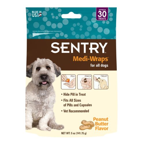 Sentry Medi-Wrap for Dogs Peanut Butter Flavor