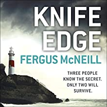 Knife Edge: DI Harland, Book 2 Audiobook by Fergus McNeill Narrated by Mike Rogers