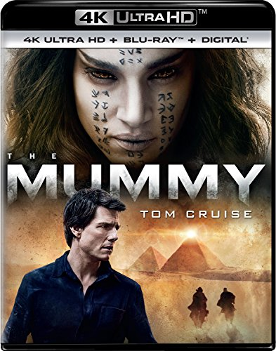 4K Blu-ray : The Mummy (With Blu-Ray, 4K Mastering, Ultraviolet Digital Copy, Digitally Mastered in HD, 2 Pack)