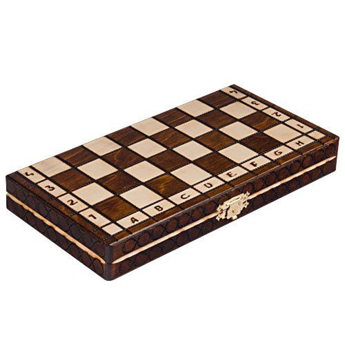 Chess Royal 30 European Wooden Handmade International Set, 11.81 x 1.97-Inch 5