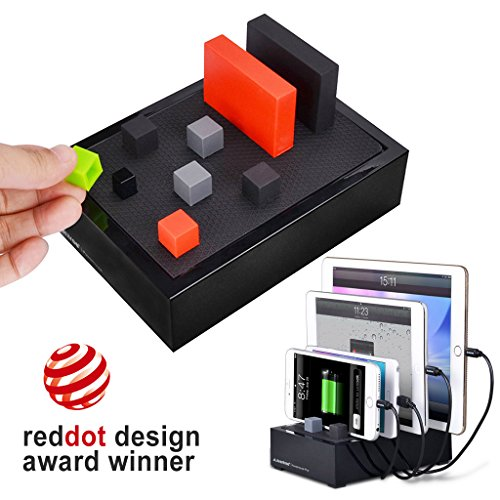 avantree 4 port universal multi usb ladestation f r mehrere ger te table cgps tr618p b eu avantree. Black Bedroom Furniture Sets. Home Design Ideas