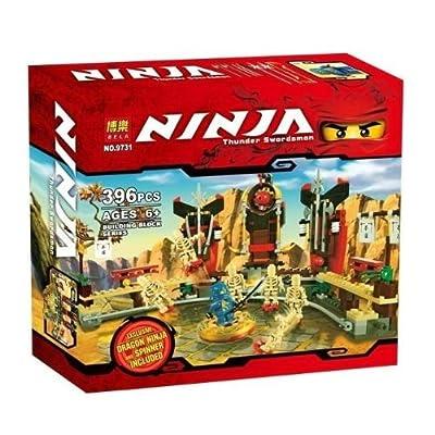 Amazon.com: BELA Lego-style Phantom Ninja lego ninjago homemade Lego Toy Skull Bowling NO;9731