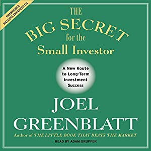 The Big Secret for the Small Investor Hörbuch