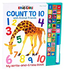The World of Eric Carle: Count to 10 Write-and-Erase Sound Book